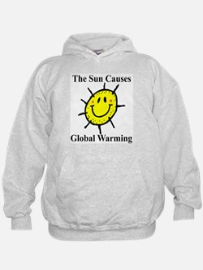 Sun Causes Global Warming Hoodie