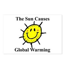 Sun Causes Global Warming Postcards (Package of 8)