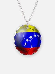 Venezuela Soccer Ball Necklace