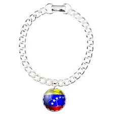 Venezuela Soccer Ball Bracelet