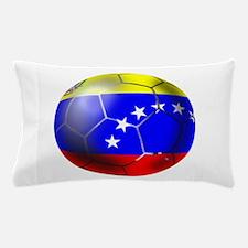 Venezuela Soccer Ball Pillow Case