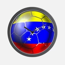 Venezuela Soccer Ball Wall Clock