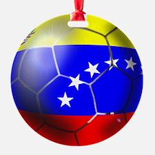 Venezuela Soccer Ball Ornament