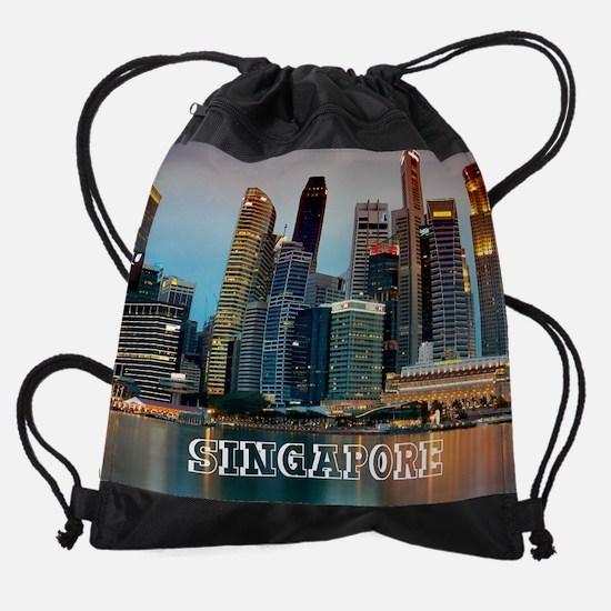 Singapore_10.25x8.25_CBD_Skyline Drawstring Bag