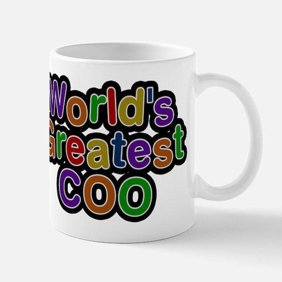Worlds Greatest COO Mugs