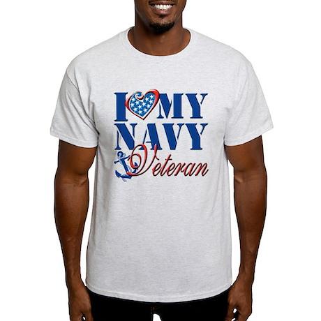 I Love My Navy Veteran T-Shirt