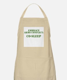 Embrace Arms Conflict: Co-Sleep BBQ Apron