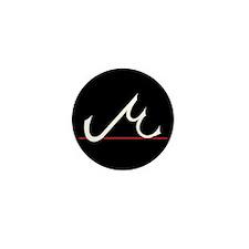 MU LOGO Mini Button (Black, 10 pack)