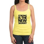 Strong is the new skinny. Jr. Spaghetti Tank