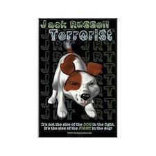 Jack Russell Terrorist Rectangle Magnet (100 pack)