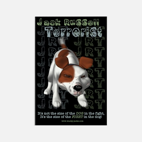 Jack Russell Terrorist Rectangle Magnet
