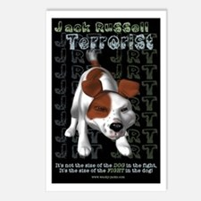 Jack Russell Terrorist Postcards (Package of 8)