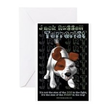 Jack Russell Terrorist Greeting Cards (Package of