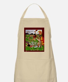 BBQ Apron, Taro Field Fighters
