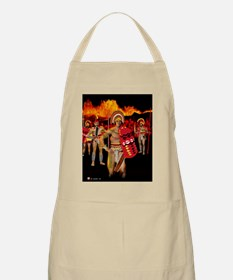 BBQ Apron, Warrior King