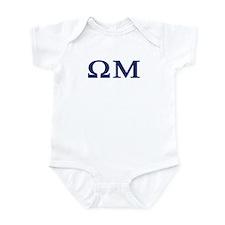 Omega Mu Homecoming Infant Bodysuit