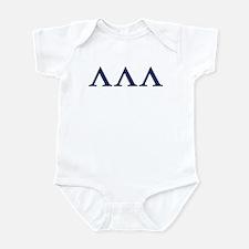 Lambda Lambda Lambda Homecoming Infant Bodysuit