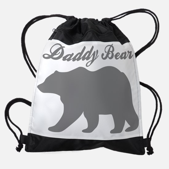 Daddy Bear Drawstring Bag