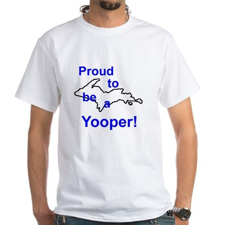 Dem Yooper Ts White T-Shirt