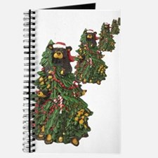 BEAR CHRISTMAS TREES Journal