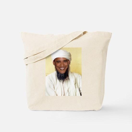 Barack Obama Bin Laden Tote Bag