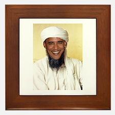 Barack Obama Bin Laden Framed Tile
