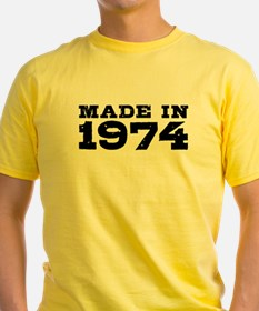 Made In 1974 T