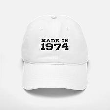 Made In 1974 Baseball Baseball Cap