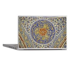 Detail in a mosque Laptop Skins