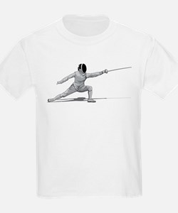 Fencing Kids T-Shirt