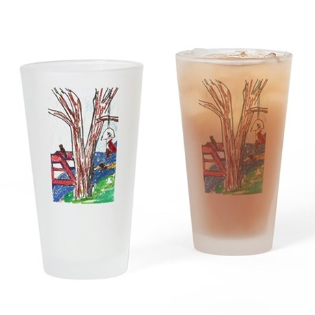 Harmony of Nature Drinking Glass