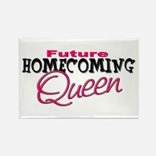 Future Homecoming Queen Rectangle Magnet