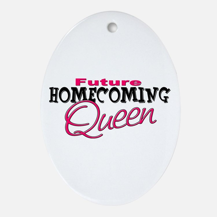 Future Homecoming Queen Oval Ornament