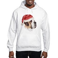 Christmas Saint Bernard Hoodie