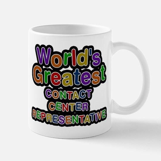 Worlds Greatest CONTACT CENTER REPRESENTATIVE Mugs