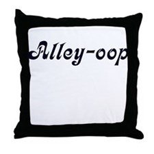 Alley-oop Throw Pillow