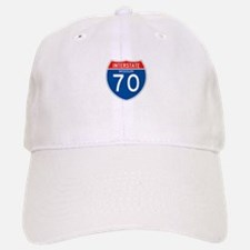 Interstate 70 - MO Baseball Baseball Cap