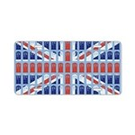 Just British Union Jack Aluminum License Plate