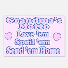 Baby Grandma's Motto Postcards (Package of 8)