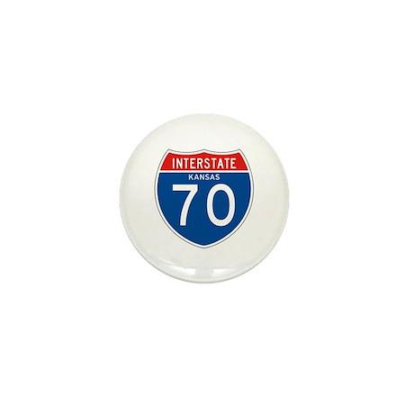 Interstate 70 - KS Mini Button