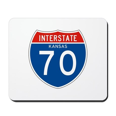 Interstate 70 - KS Mousepad