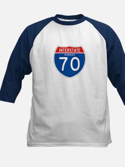 Interstate 70 - KS Kids Baseball Jersey