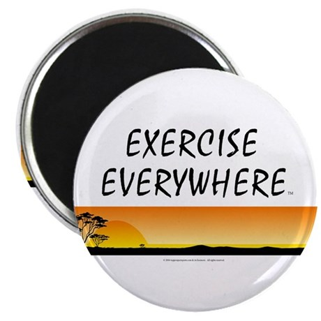 TOP Exercise Everywhere Magnet