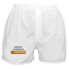 TOP Exercise Everywhere Boxer Shorts