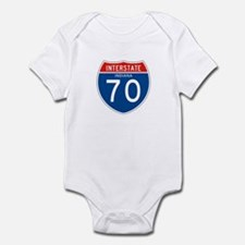 Interstate 70 - IN Infant Bodysuit