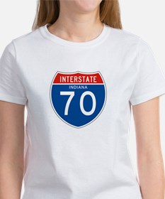 Interstate 70 - IN Women's T-Shirt