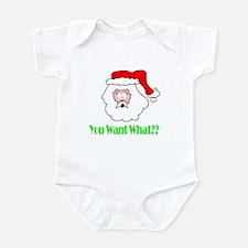 Senor Santa Infant Bodysuit