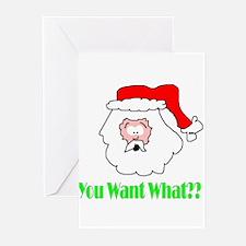 Senor Santa Greeting Cards (Pk of 10)