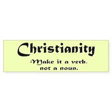 Christianity Bumper Bumper Sticker