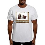 The Sexy Ebony BBWS Ash Grey T-Shirt